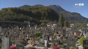 Allerheiligen am Friedhof Bad Ischl