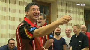 Suljovic - Darts Superstar in Vöcklabruck